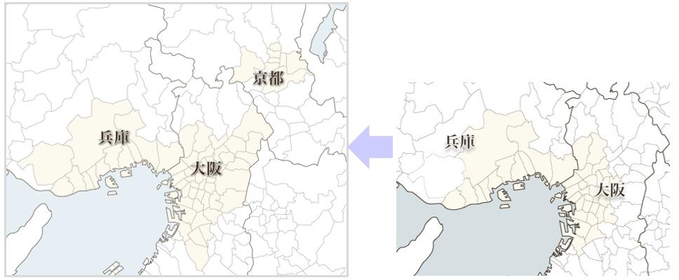 大阪府・京都府・兵庫県