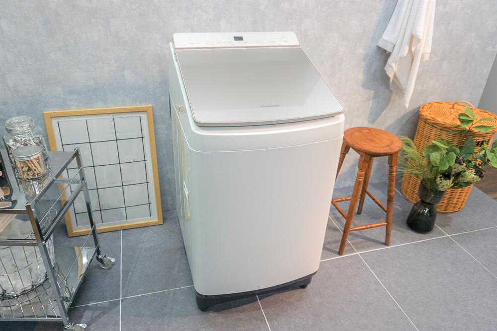 パナソニックの最新縦型洗濯乾燥機「NA-FW100K7」