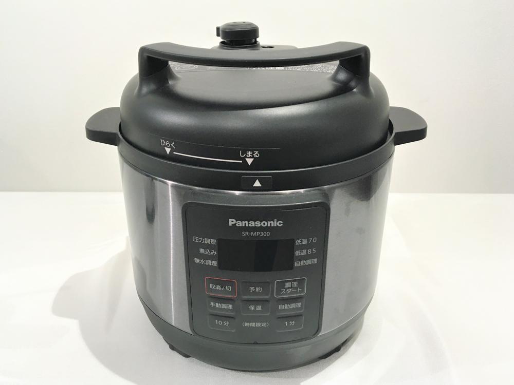 パナソニック「電気圧力なべ SR-MP300」